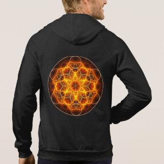 Moletom Geometria sagrado - cubo de Metatron - flor da