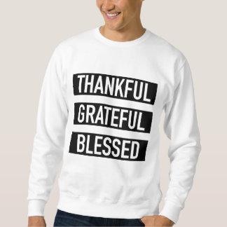 Moletom Grato grato abençoado