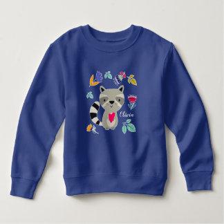 Moletom Guaxinim engraçado com a camisola infantil feita