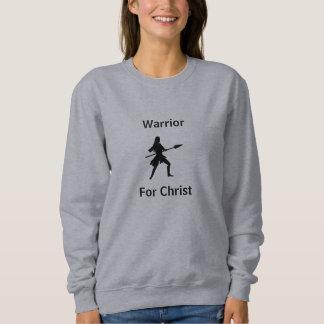 Moletom Guerreiro para a camisola do cristo com guerreiro