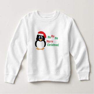 Moletom Ho Ho Ho camisola do pinguim do Feliz Natal
