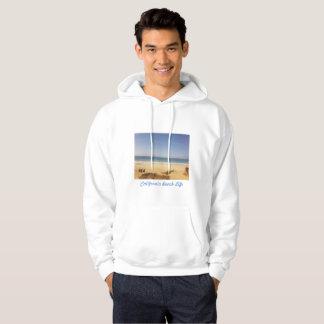 Moletom Hoodie à moda da praia de Califórnia