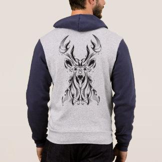 Moletom Hoodie abstrato dos cervos
