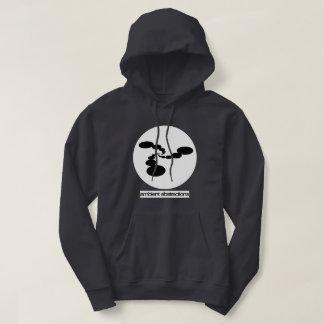 Moletom Hoodie ambiental do logotipo do círculo das