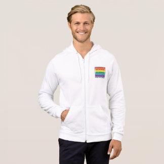Moletom Hoodie clássico do logotipo do arco-íris de 811