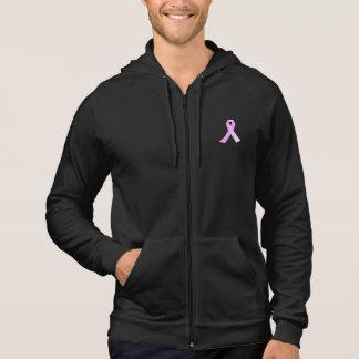 Moletom Hoodie cor-de-rosa da consciência do cancro da