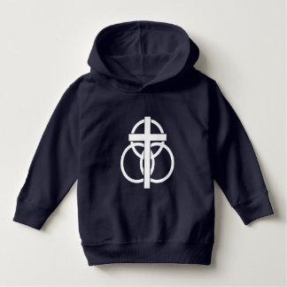 Moletom Hoodie da criança: Logotipo moderno