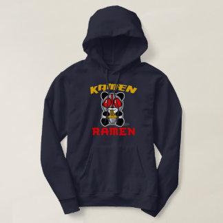 Moletom Hoodie da panda dos Ramen de Kamen