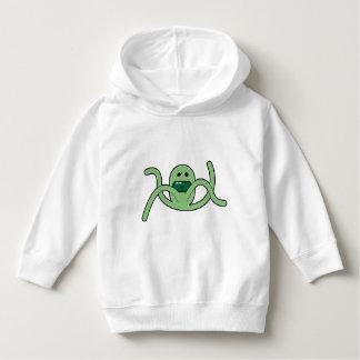 Moletom Hoodie das meninas - desenhos animados verdes -