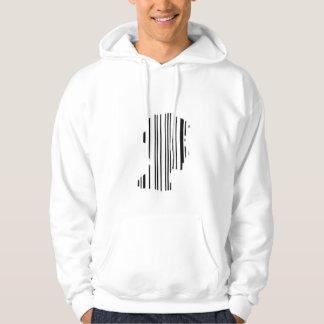 Moletom hoodie do código de barras