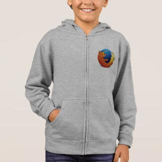 Moletom hoodie do logotipo do firefox (nenhuns texto,