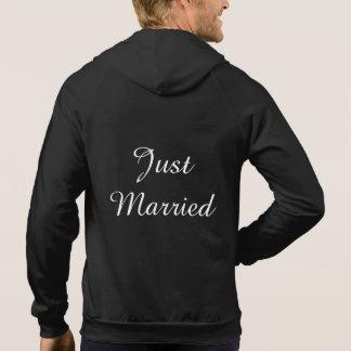 Moletom Hoodie do recem casados dos homens