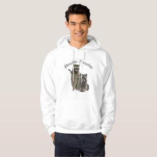 Moletom Hoodie e t-shirt dobro do problema do guaxinim
