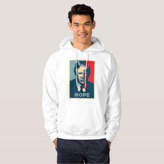 Moletom hoodie encapuçado da camisola dos homens do nope