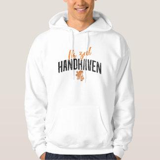Moletom Hoodie holandês de Ik Zal Handhaven da divisa