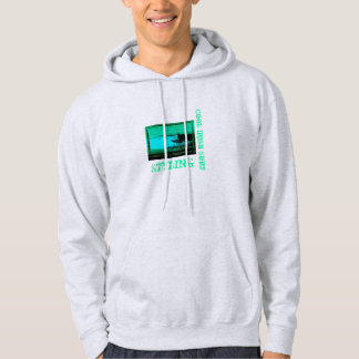 Moletom Hoodie irlandês legal do surf