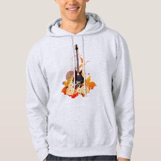 Moletom Hoodie moderno da guitarra