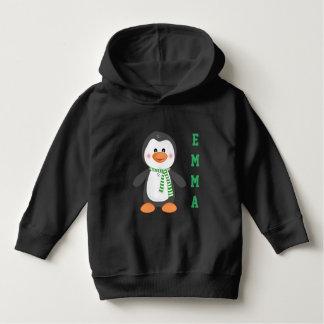 Moletom Hoodie personalizado do pinguim