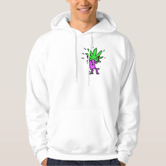Moletom Hoodie verde indo do pop art de DreamySupply