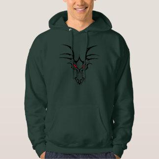 Moletom hoodie vermelho do design dos Dungeon do assassino