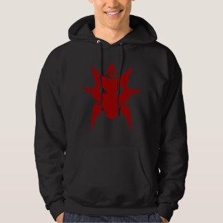 Moletom Hoodie vermelho do dragão