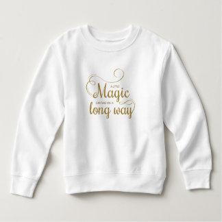 Moletom Inspirado pouca camisola mágica das citações |