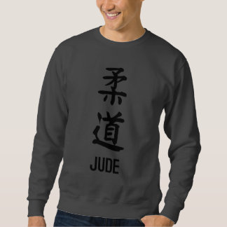 "Moletom ""JUDE"" no Kanji"