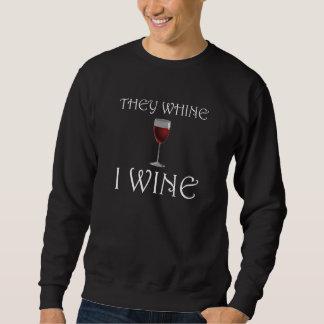 Moletom Lamentam-se vinho de I