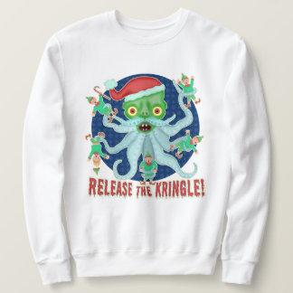 Moletom Liberação engraçada da camisola feia do Natal o