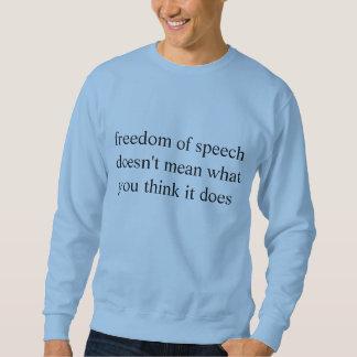 Moletom liberdade de expressão
