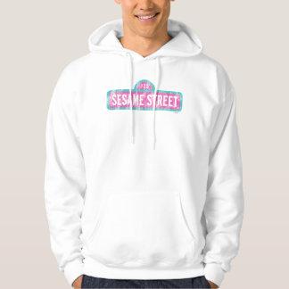 Moletom Logotipo cor-de-rosa do sinal do Sesame Street