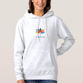 Moletom Logotipo do oficial de Canadá 150 - multicolorido