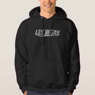 Moletom Logotipo retro afligido de Las Vegas