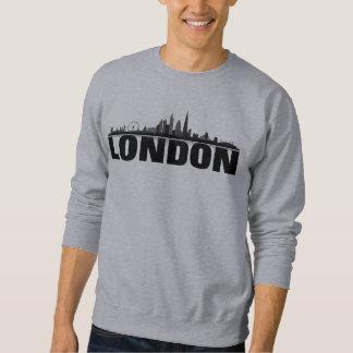 Moletom Londres Skyline camisola de capuz