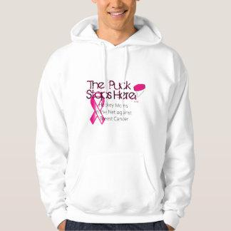 Moletom Mães na rede - Hoodie do hóquei do cancro da mama