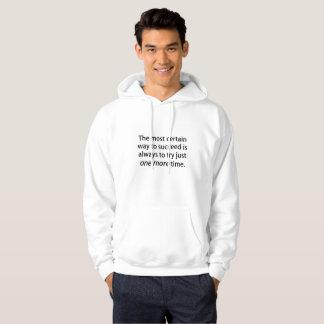 Moletom Mais uma vez hoodie