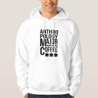 Moletom Major da antropologia abastecido pelo café