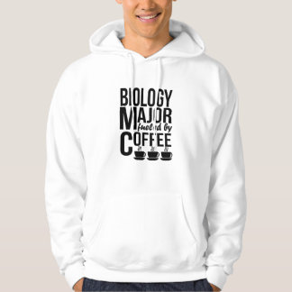 Moletom Major da biologia abastecido pelo café