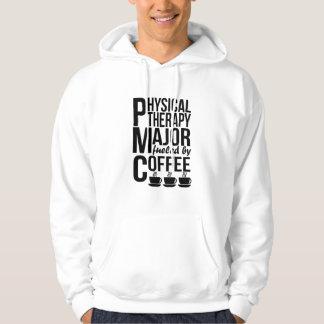Moletom Major da fisioterapia abastecido pelo café
