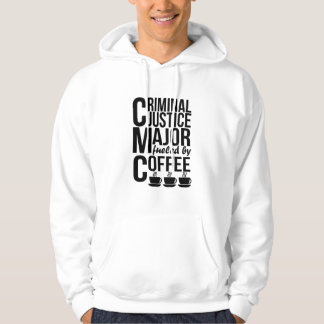 Moletom Major da justiça penal abastecido pelo café