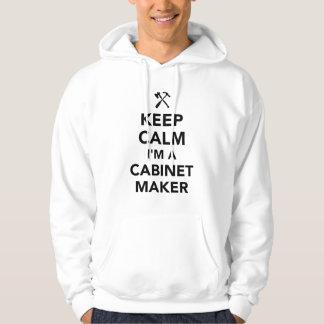Moletom Mantenha a calma que eu sou um cabinetmaker
