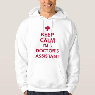Moletom Mantenha a calma que eu sou um doutor assistente