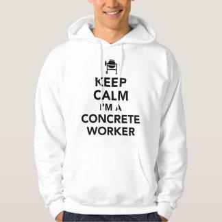Moletom Mantenha a calma que eu sou um trabalhador