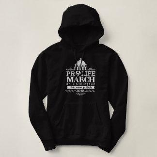 Moletom Março para a pro vida - escolha o t-shirt da vida
