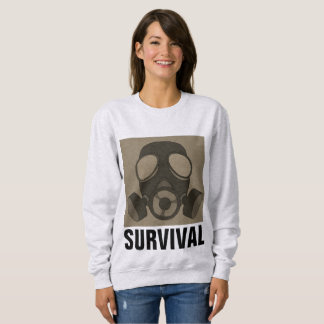 Moletom MÁSCARA de GÁS, guerra nuclear, t-shirt de PREPPER