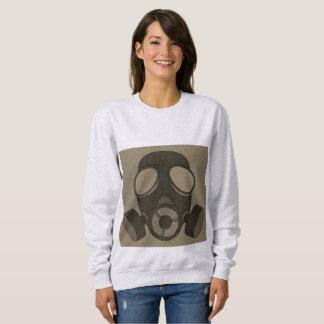 Moletom MÁSCARA de GÁS, t-shirt da guerra nuclear