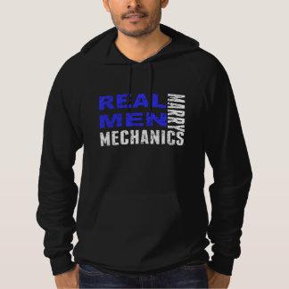 Moletom Mecânicos reais do casado dos homens