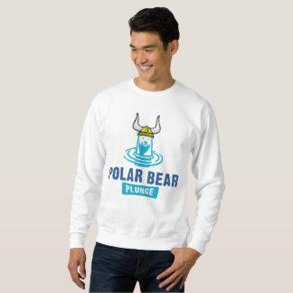 Moletom Mergulho do urso polar de Viking para homens
