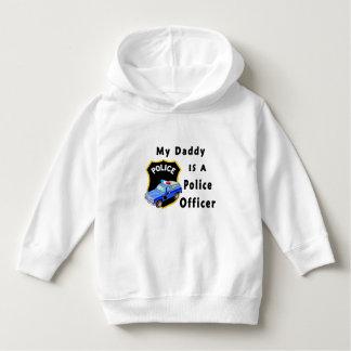Moletom Meu pai é um agente da polícia