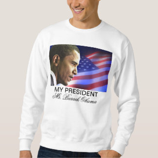 Moletom Meu presidente Sr. Barack Obama (patriótico)